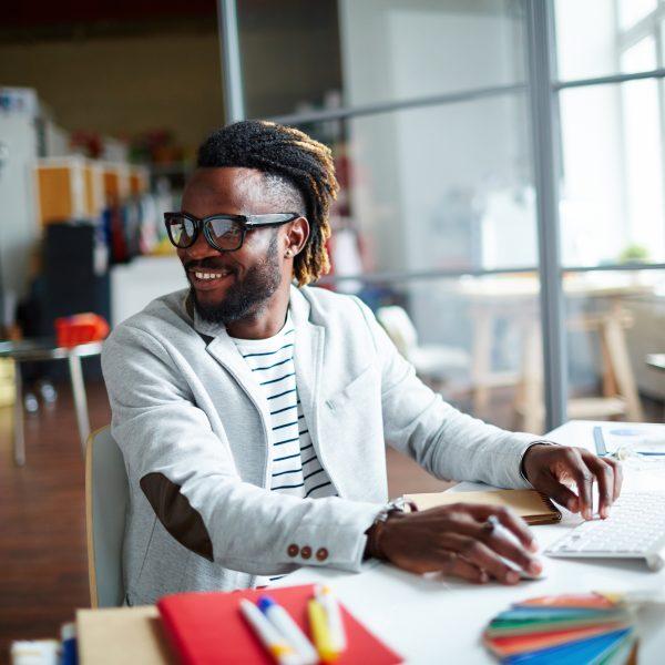 Positive freelancer